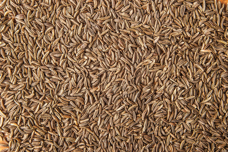 caraway: Caraway seeds background