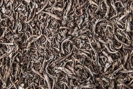 convolute: Leaf tea  background close-up Stock Photo