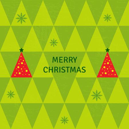 groene boom: Merry Christmas groene boom achtergrond
