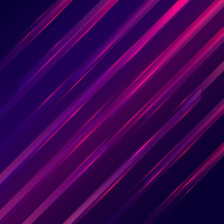 lineas rectas: Glowing l�neas rectas fondo futurista. Ilustraci�n vectorial