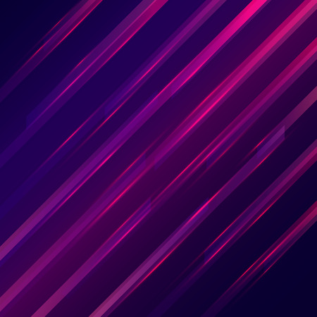 straight lines: Glowing straight lines futuristic background. Vector illustration Illustration