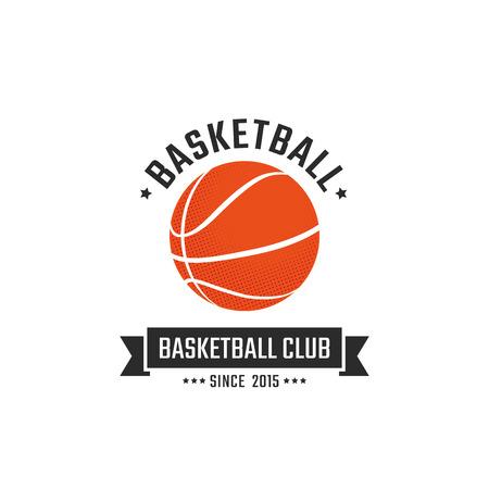 Basketball club logo template. Vector sport emblem Vector