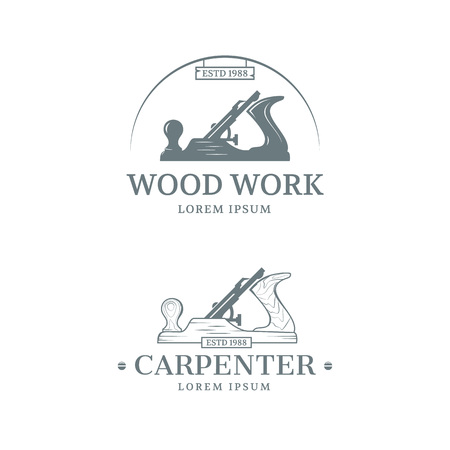 Woodwork and Carpenter vintage style