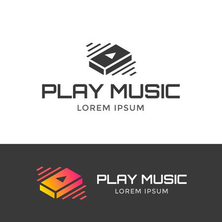 play music: Play music icon Illustration