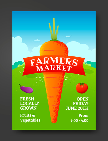 farmers market: Farmers market poster