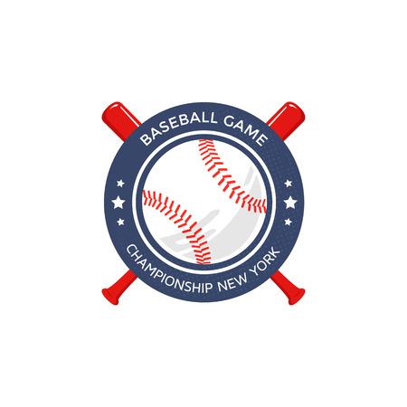 야구 로고, 상징 일러스트