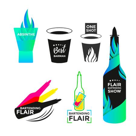 Flair bartending icon