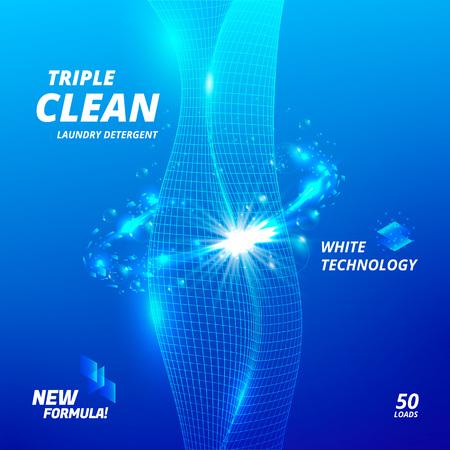 Laundry detergent ads