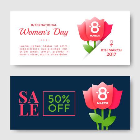 Frauentaggrußkarte Standard-Bild - 86916773