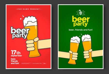 ビール党の旗。
