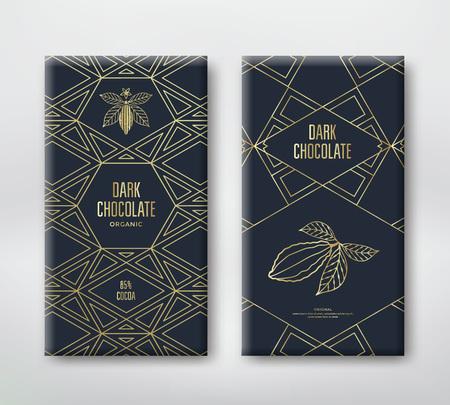 Design del cioccolato pralina Archivio Fotografico - 87443043