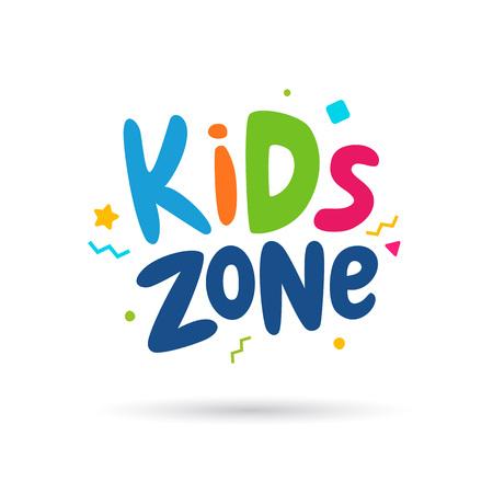 Kids zone emblem