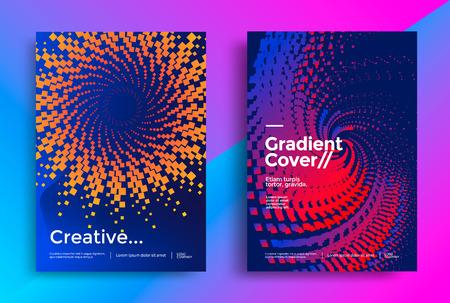 Minimal covers design illustration. 일러스트