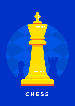 Schach Sport Poster Design