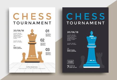 Affiche du tournoi d'échecs
