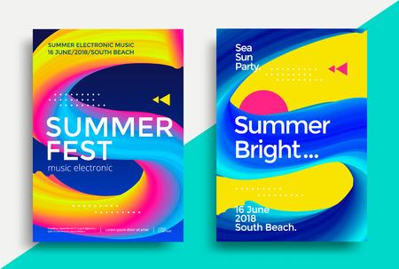 Music summer fest poster