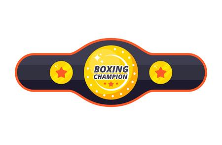 Boxing championship belt Stock Vector - 120256445