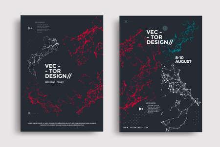 Minimal covers design with line polygons plexus