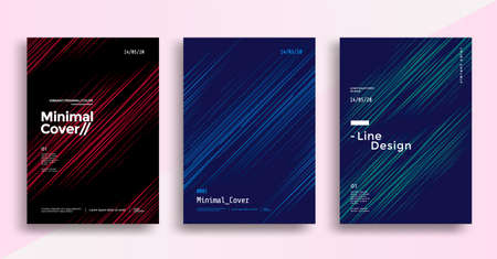 Minimal dynamic covers design with color line