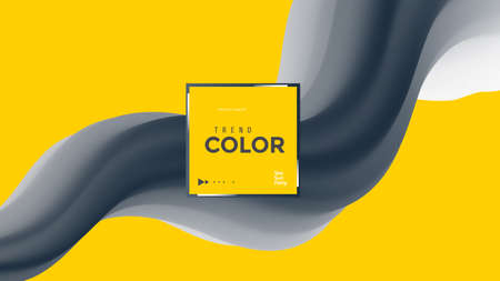 Grey and yellow background