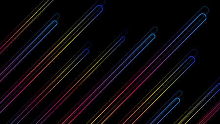 Abstract background with neon color lines