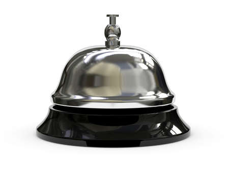3d render of Reception bell Stock Photo - 7696562