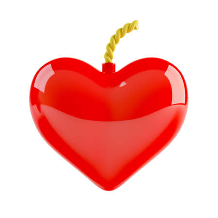 3d computer generated image of heart bomb Stock Photo - 7696564