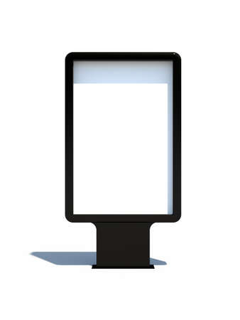 Isolé Sitylight noir blanc avec ombre