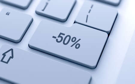 percentages: Percentage button on keyboard with soft focus  Stock Photo