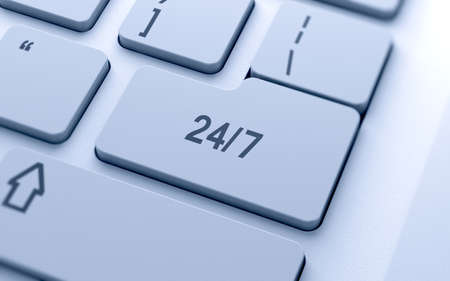 24 hour: Support sign button on keyboard with soft focus