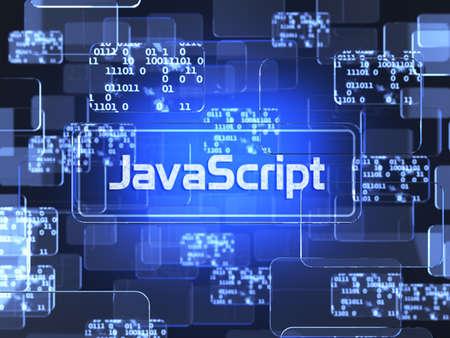 Programming concept. Future technology smart glass blue touchscreen interface. Screen concept 스톡 콘텐츠
