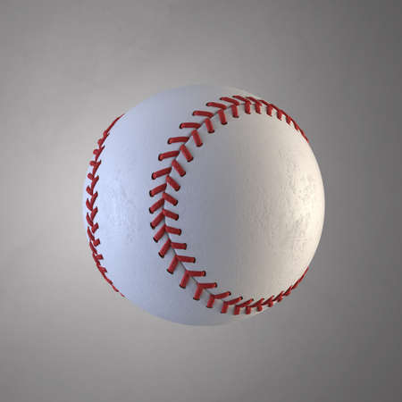 Baseball ball 3d rendering illustration Stock Photo