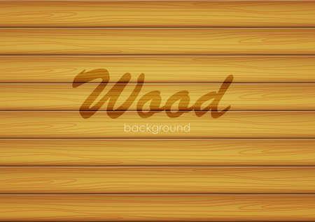 Vector illustratie: bruine achtergrond van houtstructuur