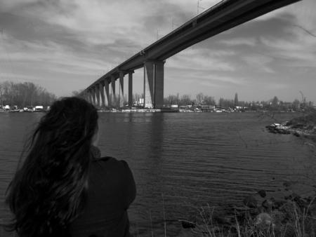 bulgaria girl: Girl under the bridge
