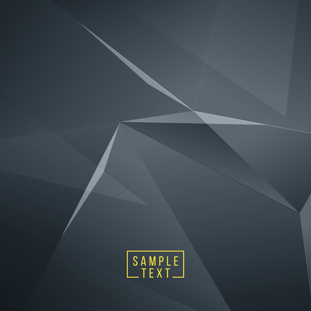 diamond background: Abstract polygonal space low poly dark background. Connection structure. Polygonal vector background. Futuristic HUD background. EPS10.