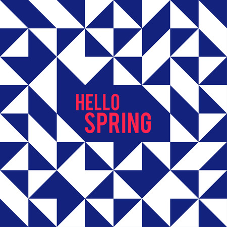 square shape: Rhombus and square shape and hello spring. Abstract Rhombus Geometric Background. Modern Geometric. Rhombus Design Template