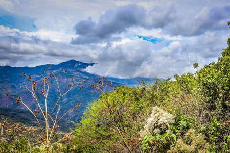 landscape blue sky costa rica clouds Foto de archivo - 101657533
