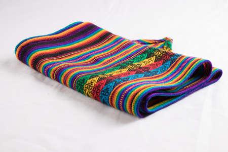 Peruvian cloth, fabric peruvian Foto de archivo - 102216957