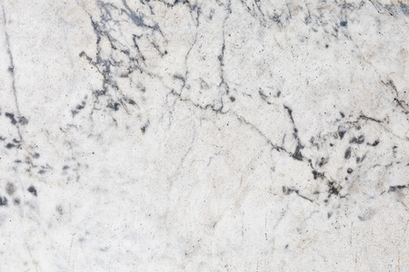 Ivory white marble tile texture background with blue cracks Banco de Imagens