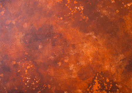 Rusty cement concrete stone texture background. Top view Stock Photo