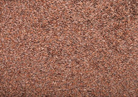 Raw natural healthy organic linseed flax-seed. Natural Omega 3 product