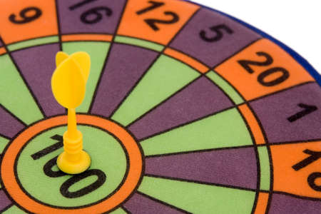 inaccurate: Darts, childrens game � hit the mark, make hit�