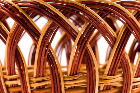 Beautiful wicker basket texture for use as background Stock Photo - 6741236