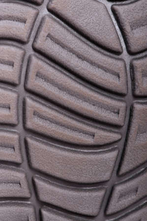 Dark sole of boot for backgrounds or textures photo