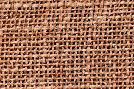Closeup of a natural burlap texture for the background Stock Photo - 18657470