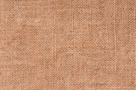 Closeup of a natural burlap texture for the background photo
