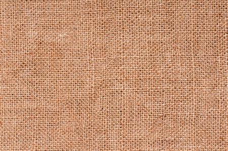Primer plano de una textura de arpillera natural para el fondo