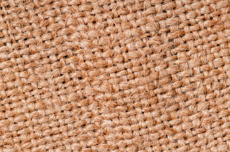 Closeup of a natural burlap texture for the background Stock Photo - 19738068