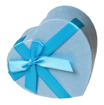 Single gift box isolated on white background Stock Photo - 25258416
