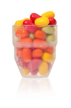 dose: Dose pills Stock Photo